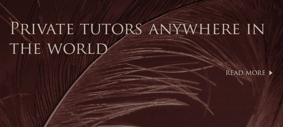 Providing Tutors anywhere in the World